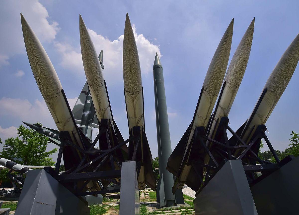 U.S. Upgrading Korea Missile Defense Even as `War Games' Halted