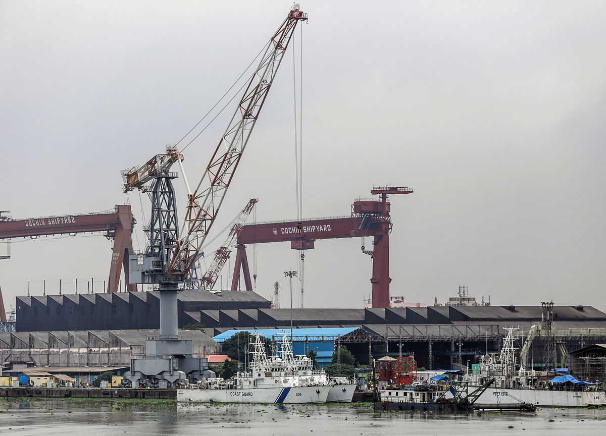 What Is Ailing India's Most Profitable Ship Builder
