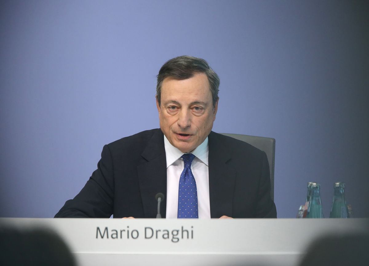 Draghi Talks Tough on Stimulus as ECB Discusses More Rate Cuts