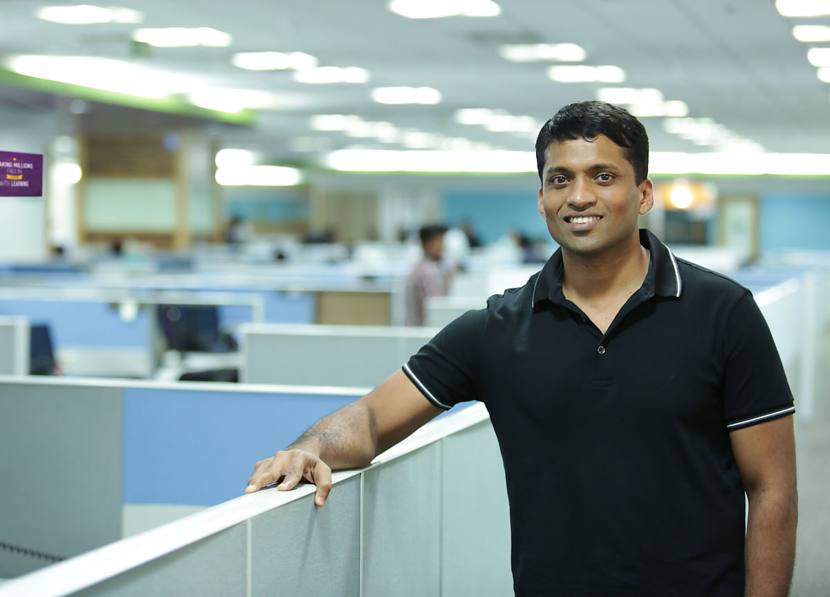 Byju Raveendran, the A Student in Online Ed