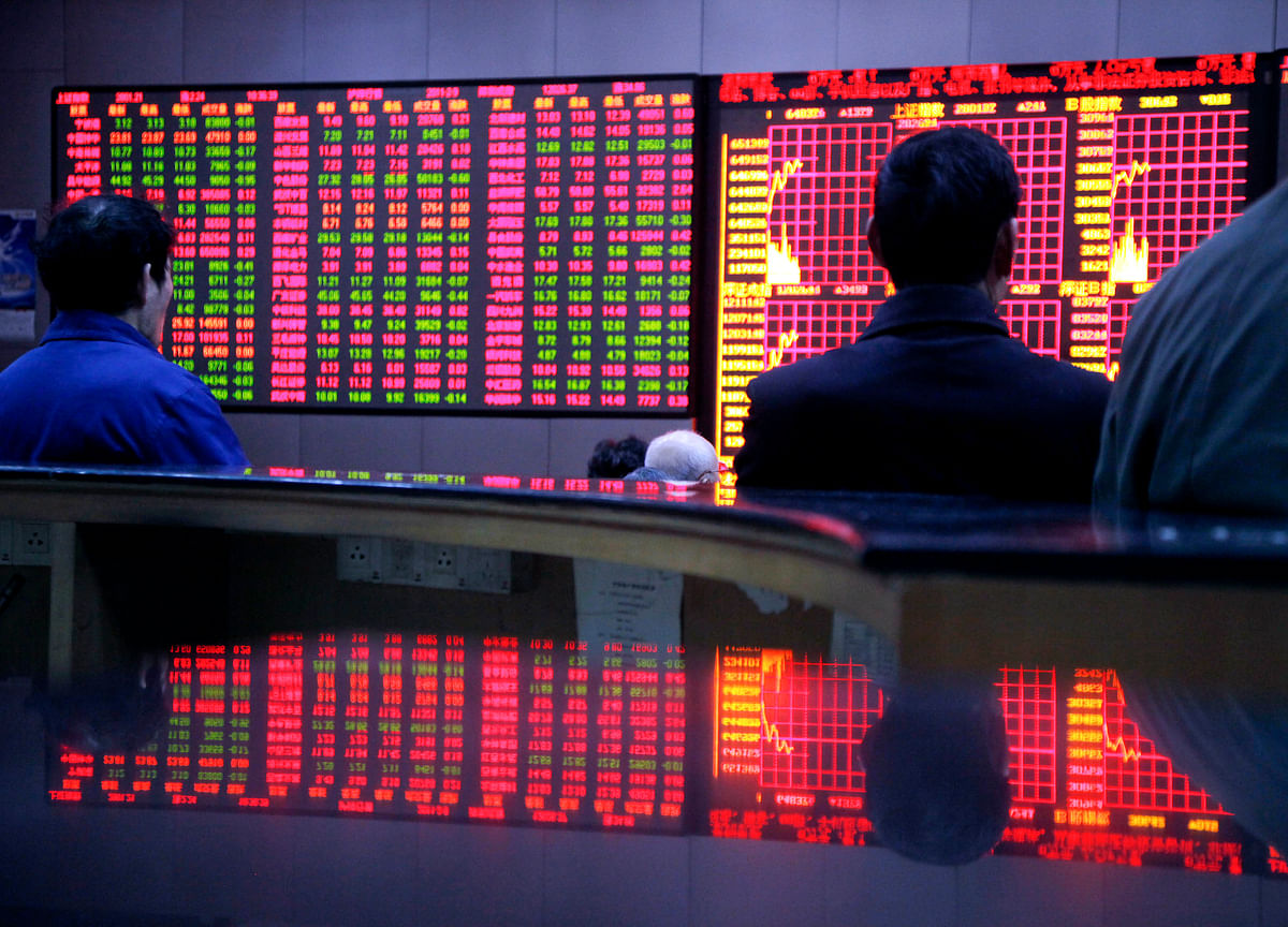 China's Stock Rout Puts $613 Billion of Share Pledges at Risk