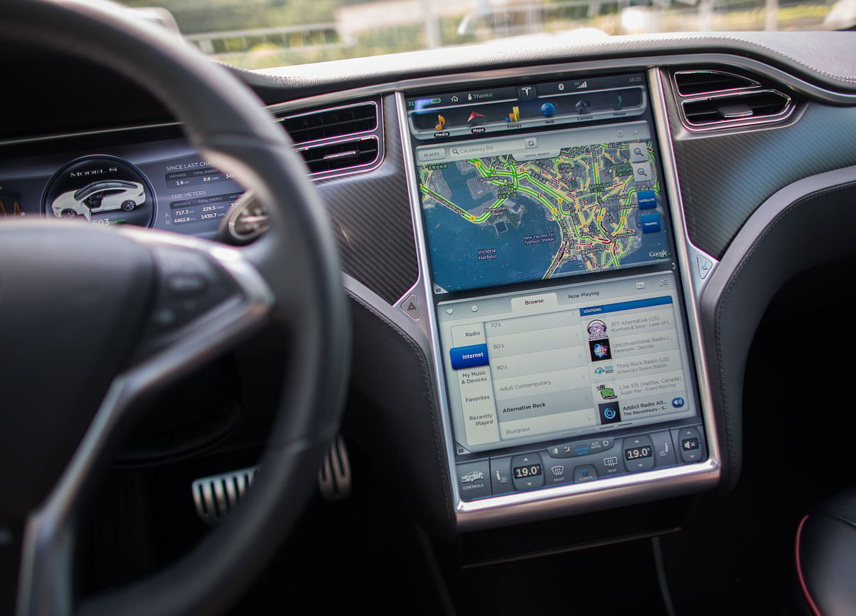 Touch-Screens in Cars Don't Make Us Safer –Yet