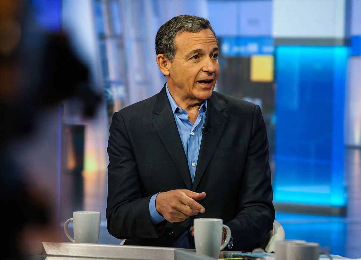 Disney's Iger Quits Apple Board as Streaming Rivalry Heats Up