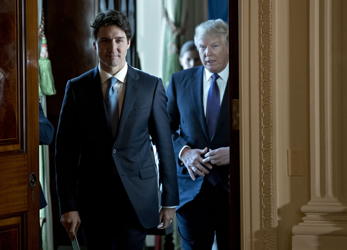 Trump Says He Refused Meeting With Trudeau Over Trade Talks