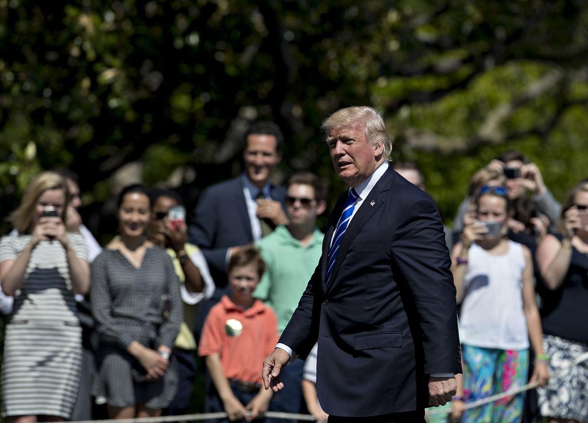 Donald Trump Returns to Washington. It's His Swamp Now.
