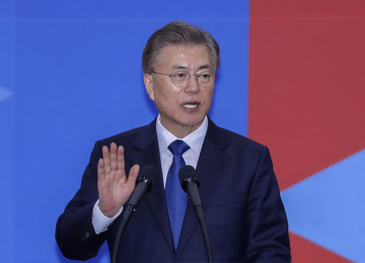 South Korea's Moon Reassigns Prosecutors Probing His Government