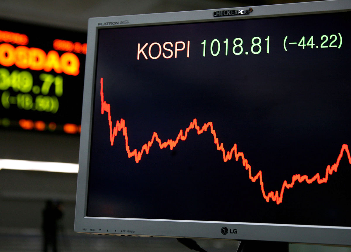 South Korea Becomes World's Worst Major Equity Market in '19