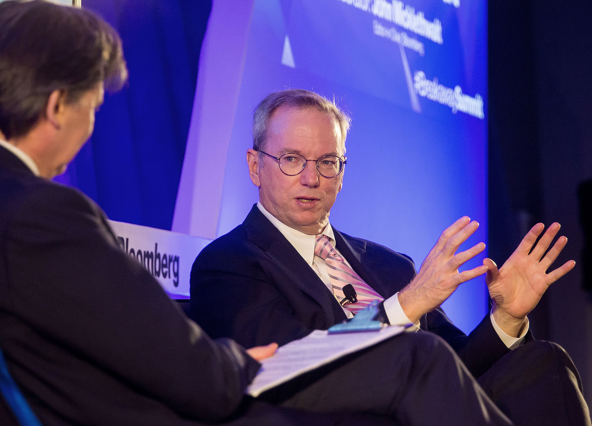 Eric Schmidt Shows Adult Supervision Lost Its Cool