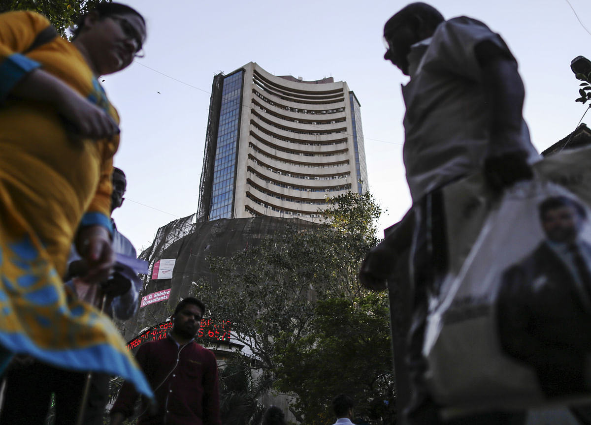 Sensex, Nifty Fall For Third Day Dragged By L&T, ICICI Bank