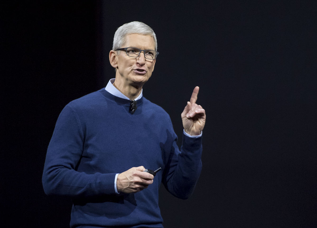 India Challenging Market In Short-Term, Says Apple's Tim Cook