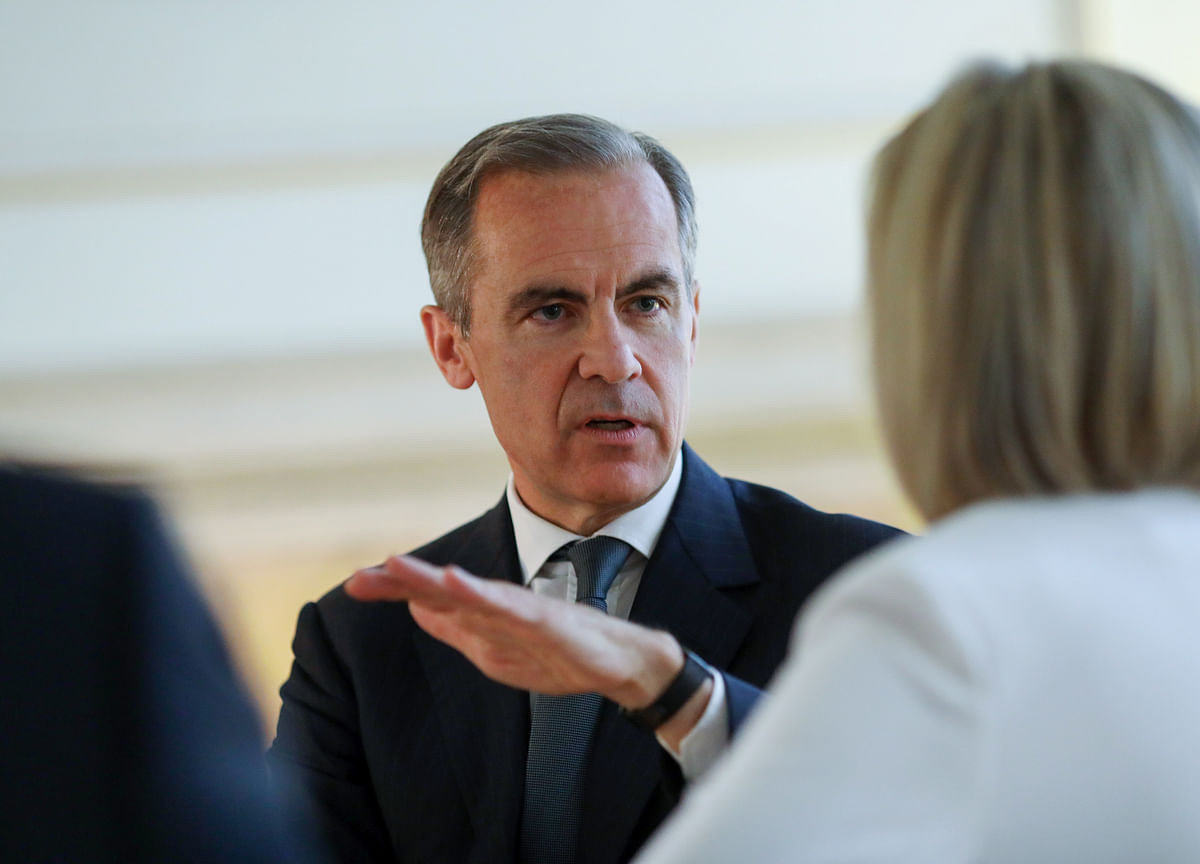BOE's Carney Is Bookmaker's Favorite to Take Top Job at the IMF