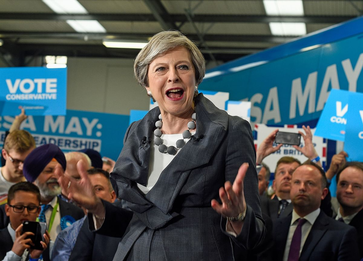 May Is Hatching Secret Plan B to Avoid No-Deal Chaos