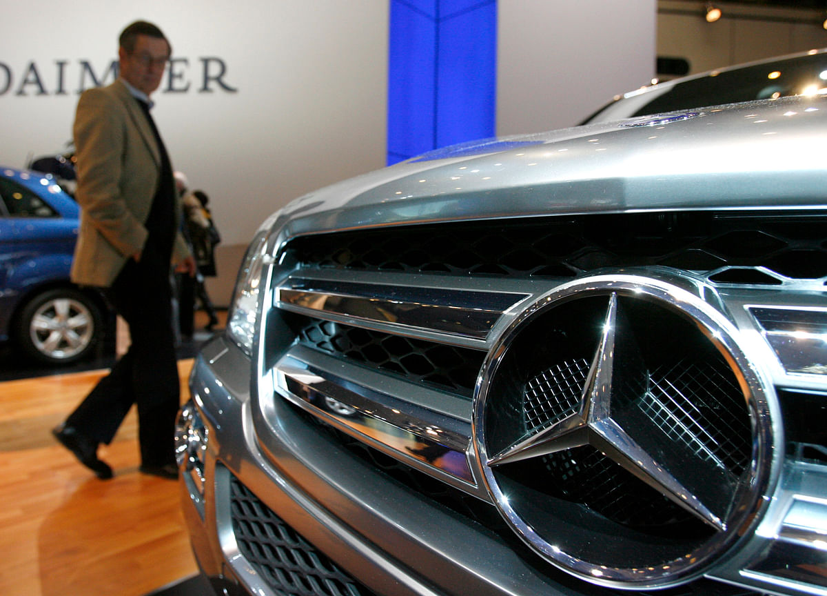 Daimler Fined $960 Million to Settle Rigged Diesel-Car Probe