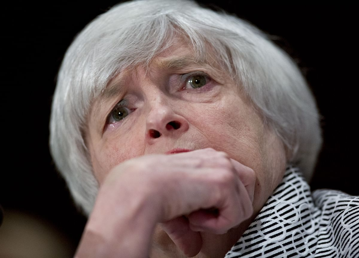 Yellen Leads Chorus of Concern Over Risks Facing Global Economy