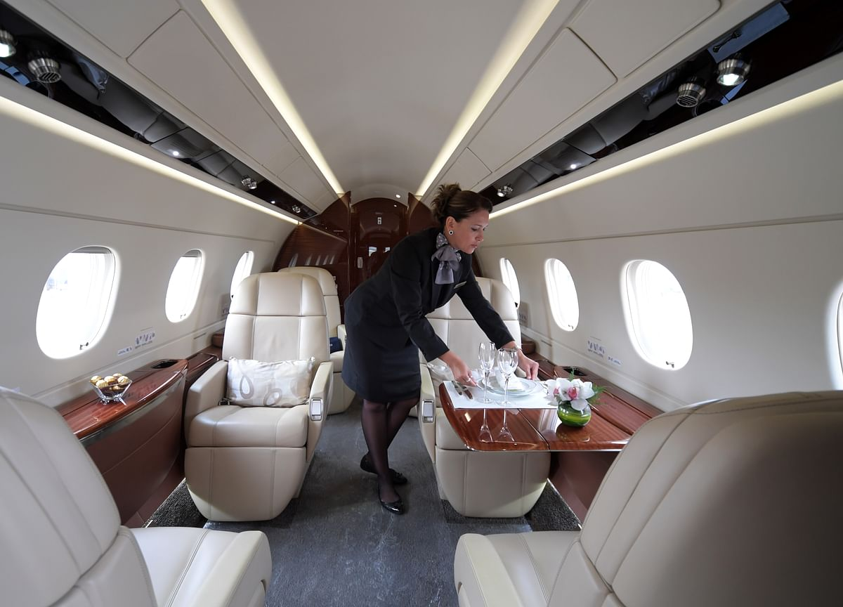 Hedge Funds Are Tracking Private Jets to Find the Next Megadeal