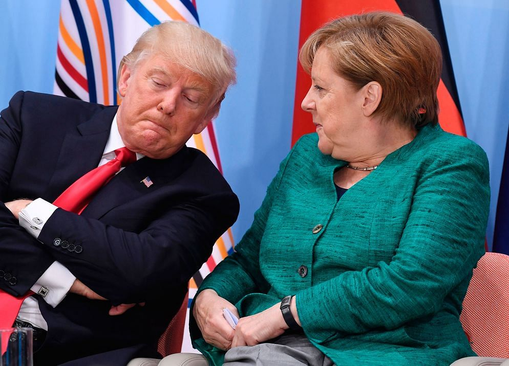 Trump and Merkel Exchange Barbs in Showdown Over Russia's Pipeline