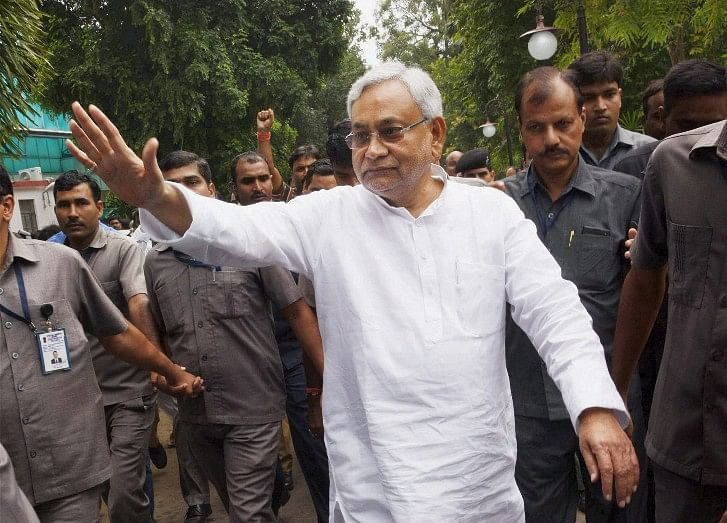 Nitish Kumar Sworn-In As Bihar Chief Minister For The Seventh Time