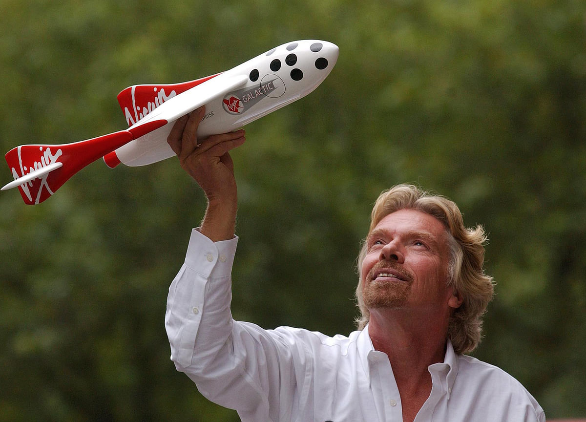 Branson Ready for His Biggest Test Yet as Space Shot Beckons