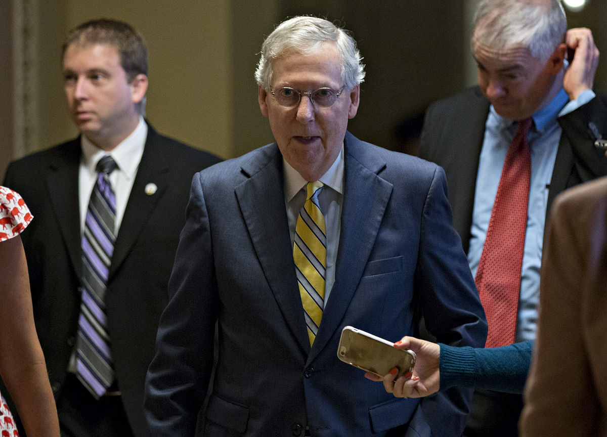 McConnell Hits Back at Trump After Series of Policy Curve Balls
