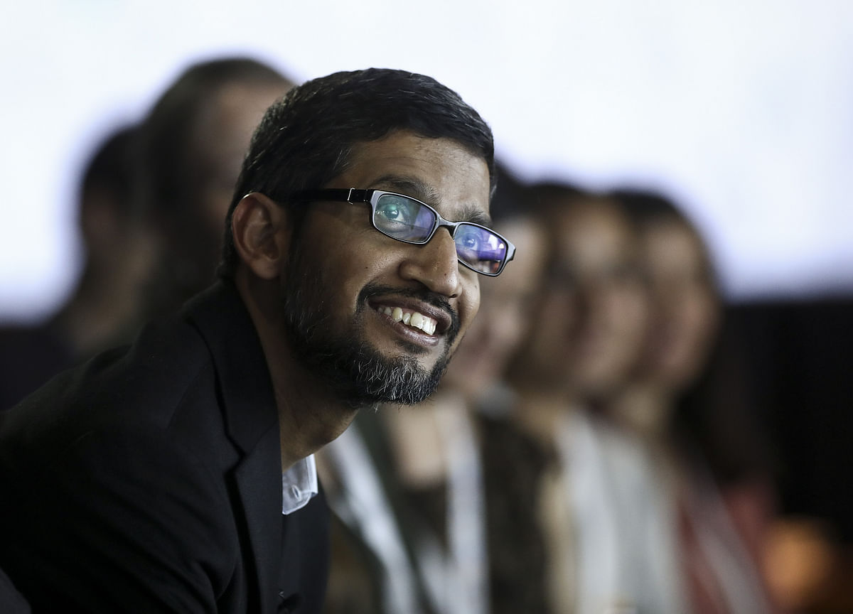Alphabet's New CEO Finally Has a Title Fitting His Role