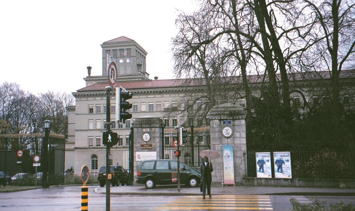 The GATT (now WTO) headquarters in Geneva, Switzerland. (Photograph: Raj Bhala)