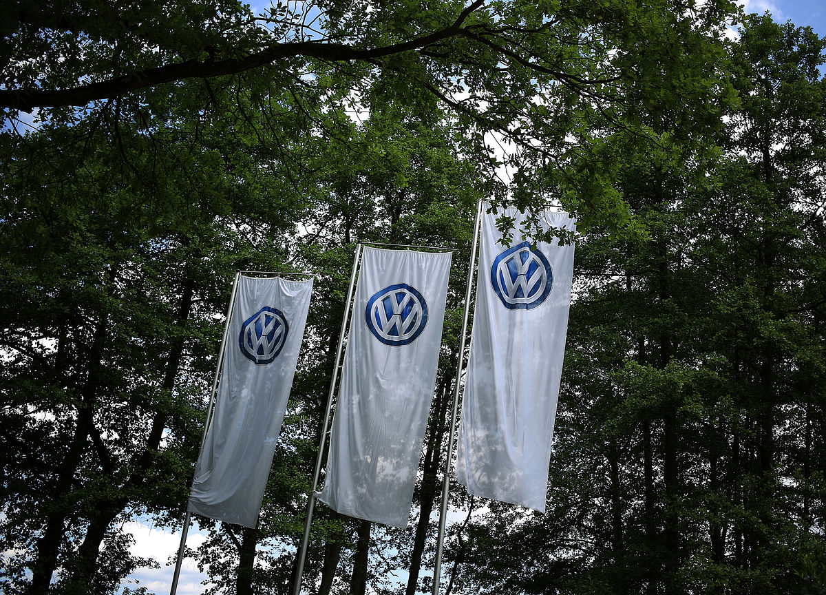 VW Unveils New Logo, Affordable E-Cars in Show of New Era