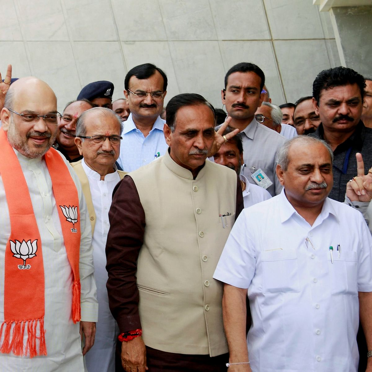 Sulking Gujarat Deputy Chief Minister Agrees To Take Charge As Amit Shah Placates Him