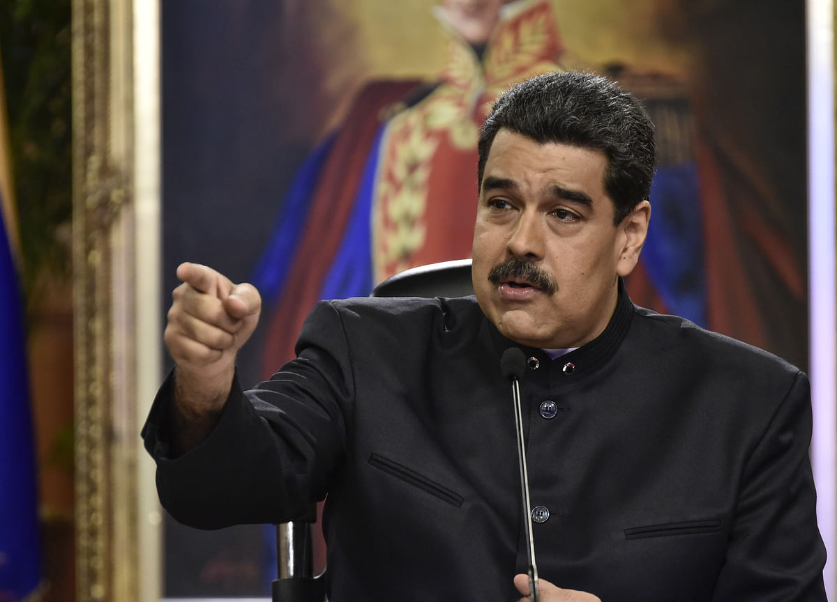Russia Comes to Maduro's Rescue After U.S. Sanctions Hit