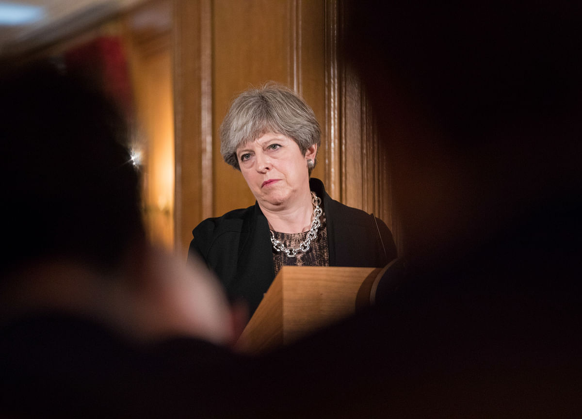 May Returns to Brussels After Brexit Defeat by Her Own Party