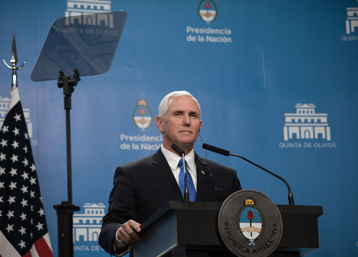 Pence Abruptly Cancels Trip; Official Says 'No Cause for Alarm'