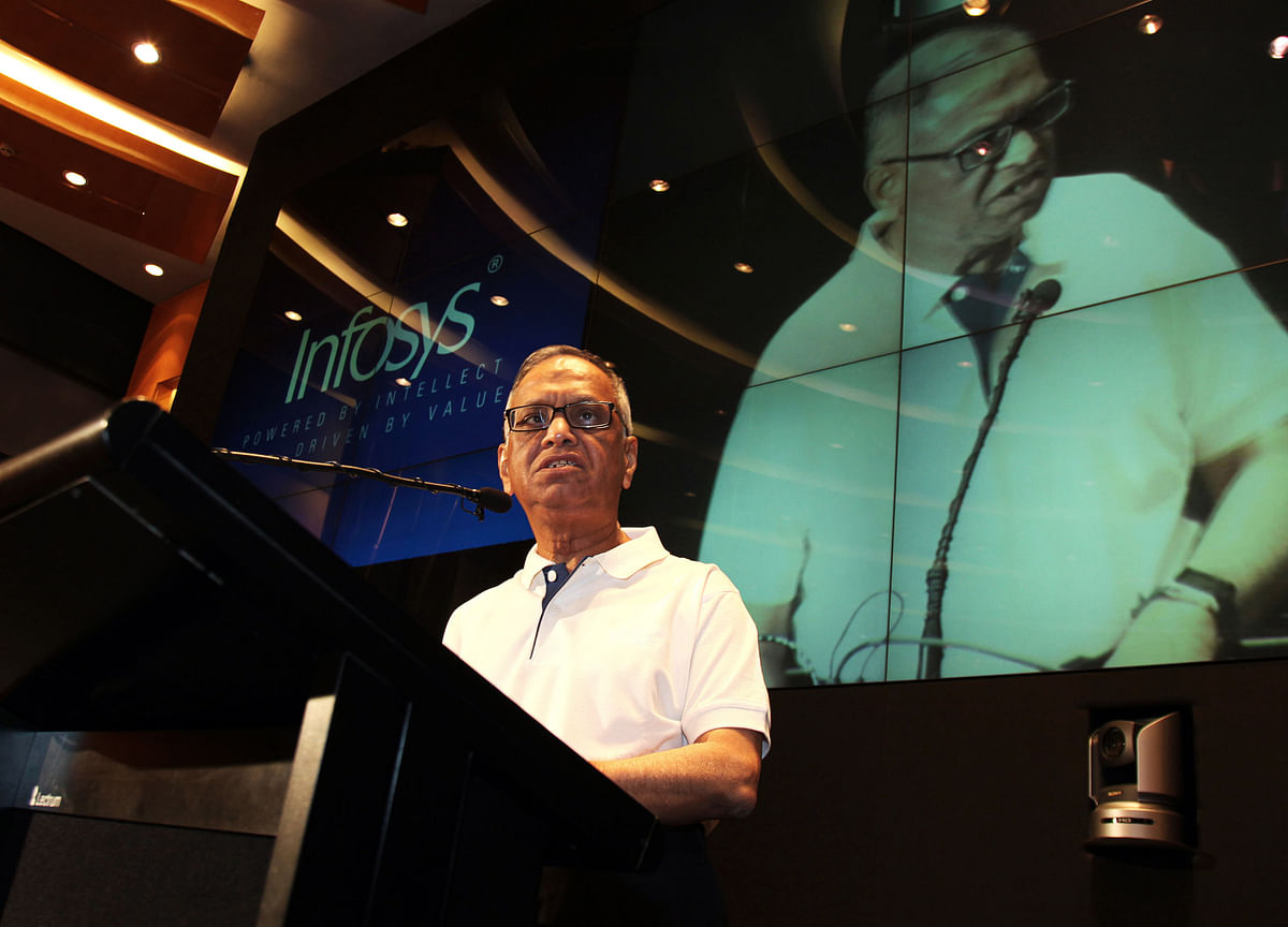 Need Level-Playing Field Between Indian And Foreign Investors: Infosys' Murthy