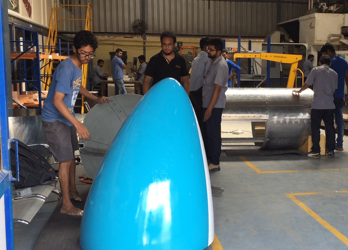 India's Lone Pod Ready To Zoom In SpaceX's Hyperloop Competition