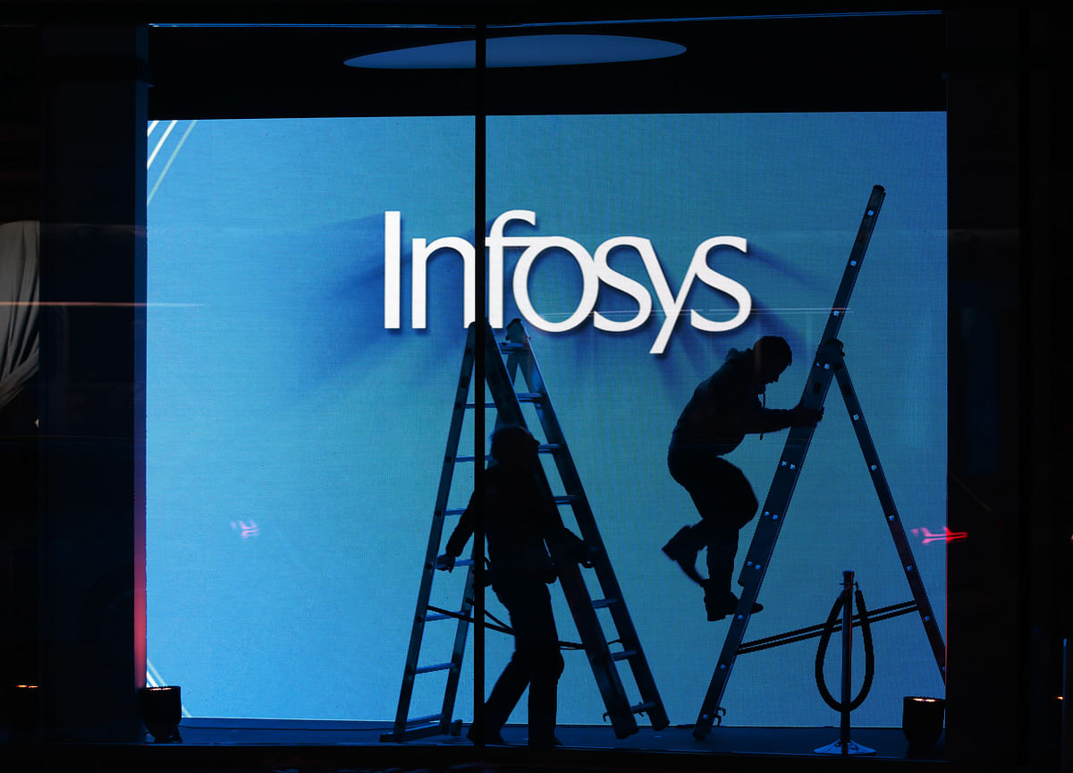 Infosys Loses Rs 22,400  Crore In Market Value After CEO Sikka Quits