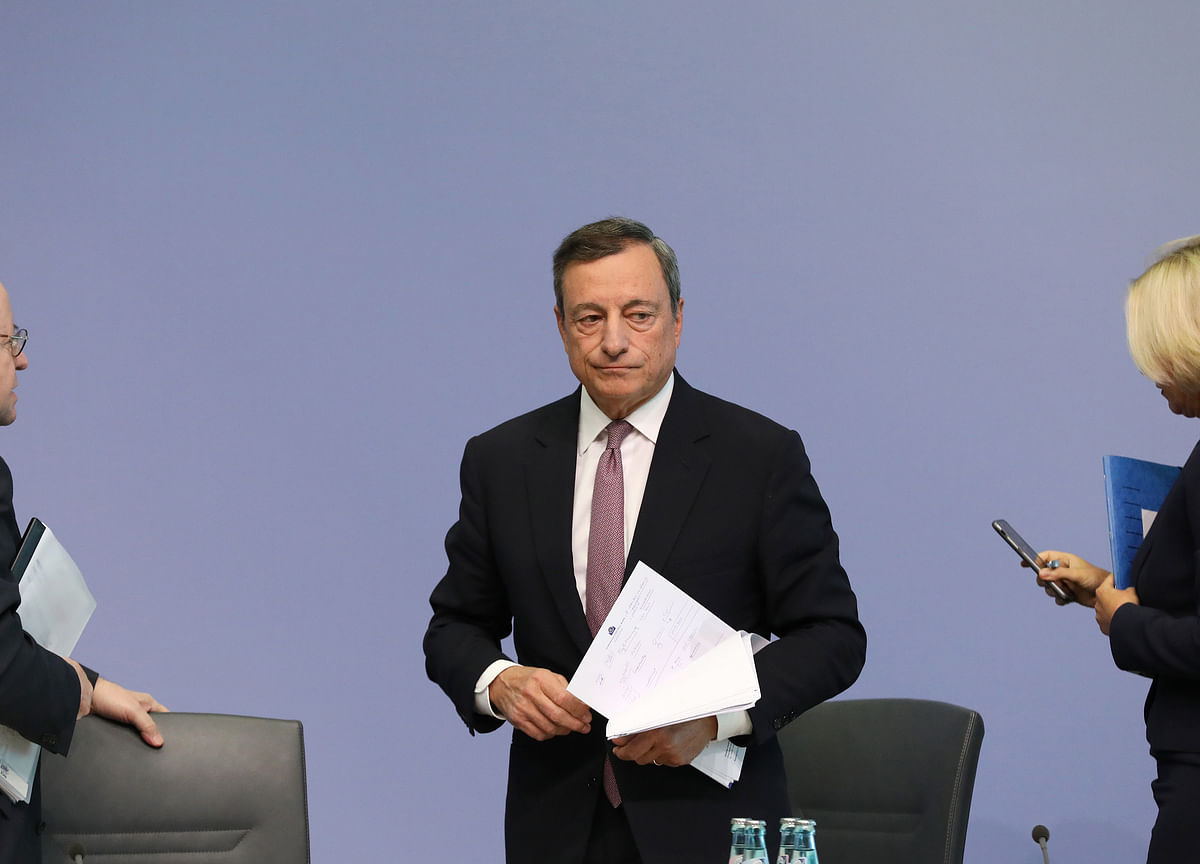 Euro-Zone Inflation Holds at 1.2% as ECB Prepares More Stimulus