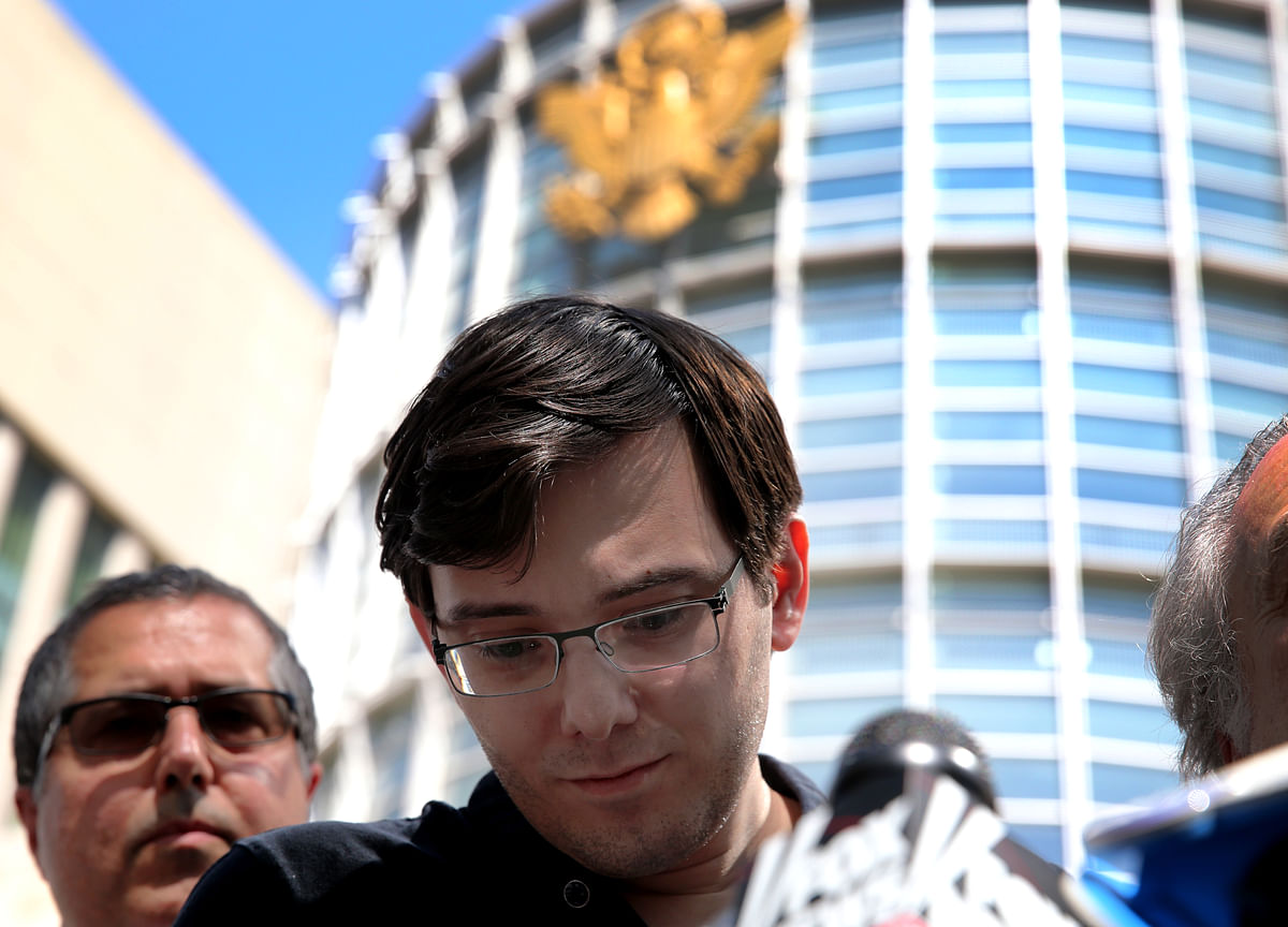 Martin Shkreli Weeps, Tells Sentencing Judge: `This Is My Fault'