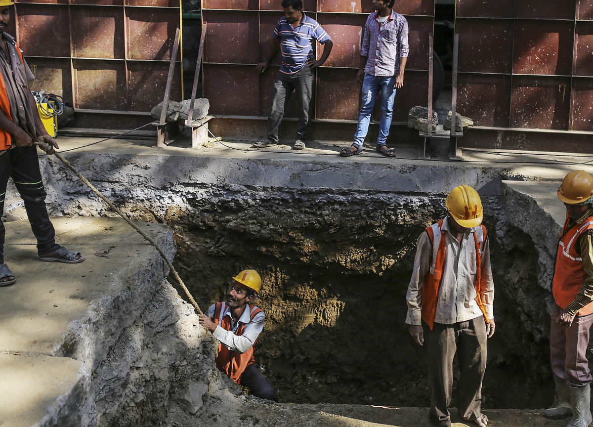 Strict Covid-19 Curbs Haven't Stalled Construction In Mumbai This Time