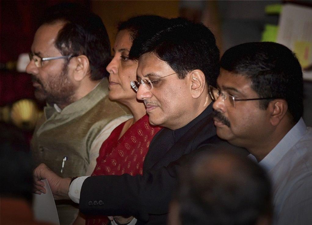 Piyush Goyal Keeps Railways, Also Gets Commerce
