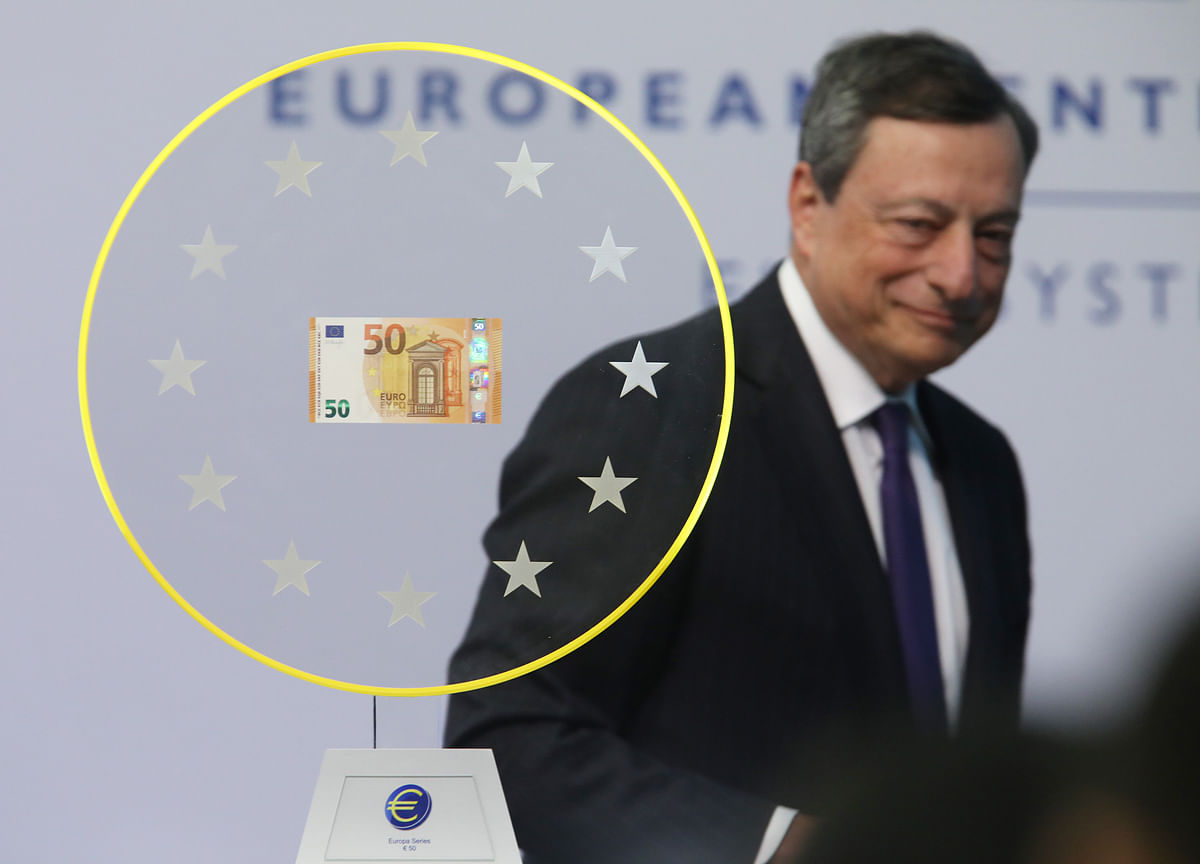 Europe's Economic Frailties on Display After Draghi's Downer