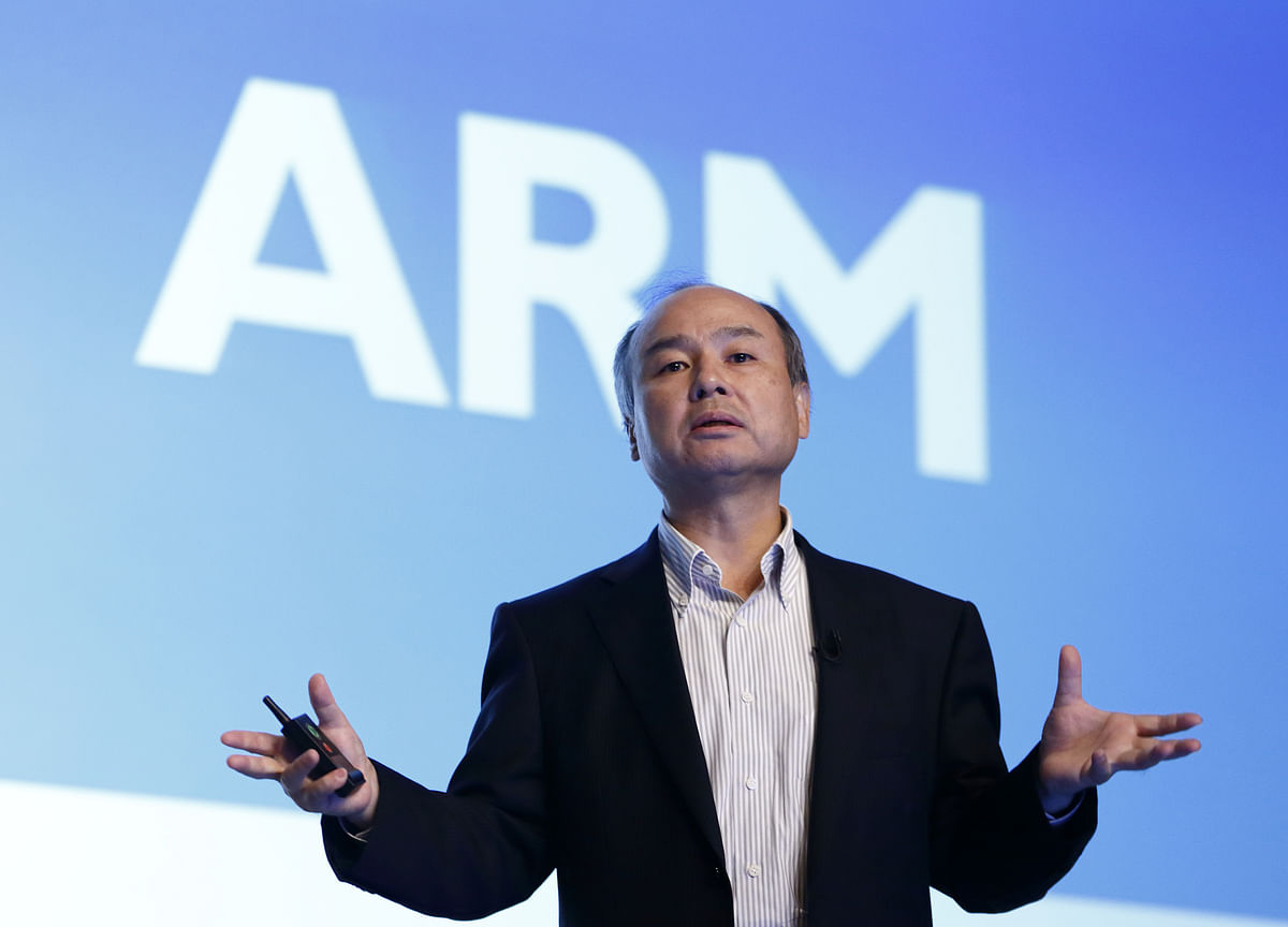 SoftBank's Son Aims to Re-List Chipmaker ARM Within 5 Years