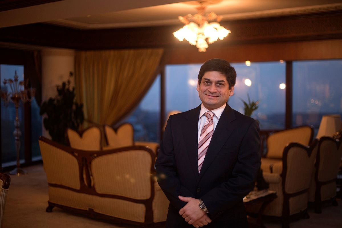 Prashant Ruia, chief executive officer of the Essar Group (Photographer: Prashanth Vishwanathan/Bloomberg)