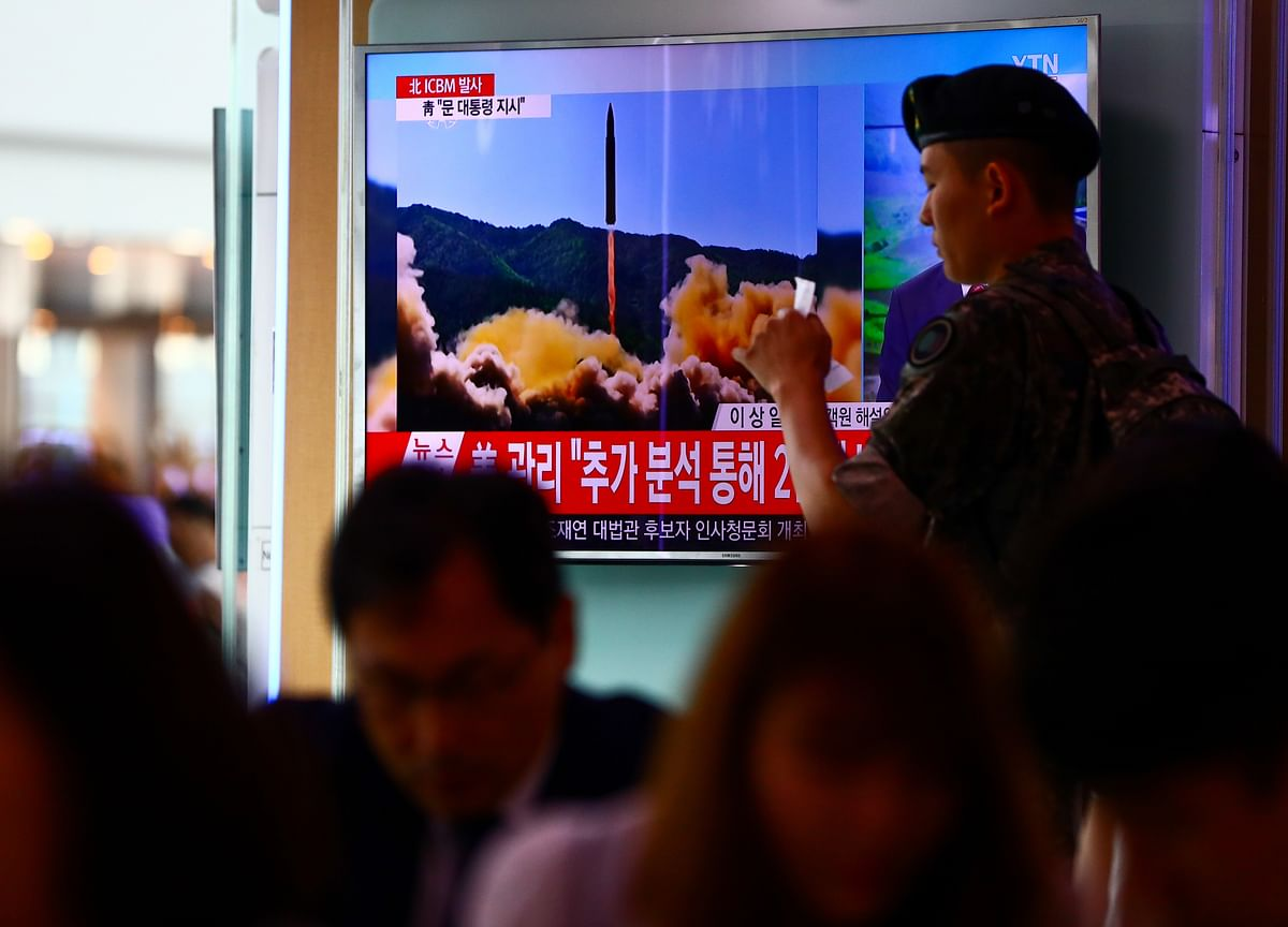 N.Korea May Ready Rocket Launch, Blames U.S. for Summit Flop
