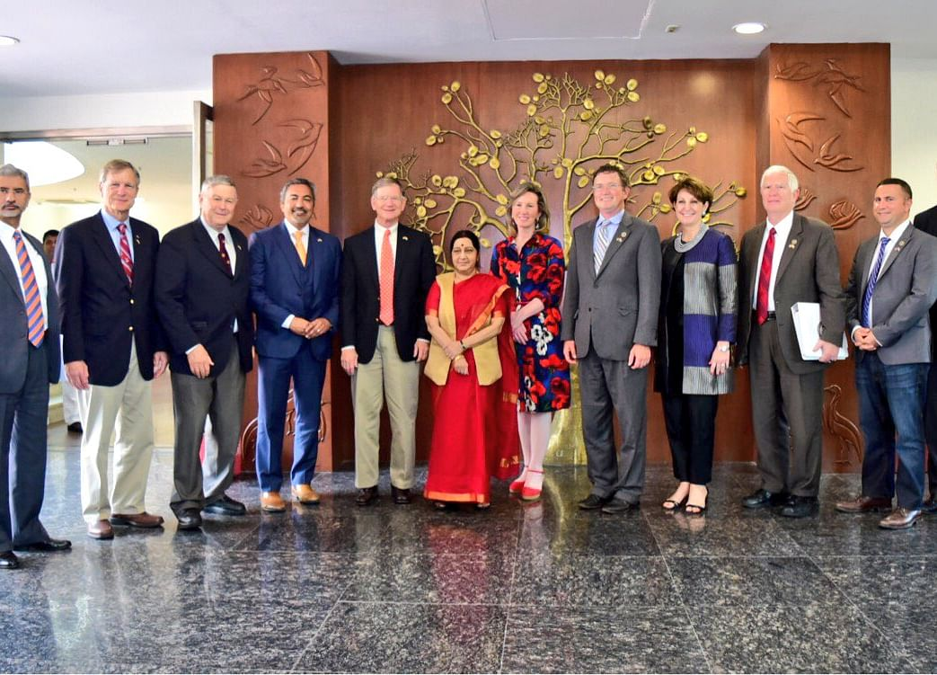 Swaraj Flags H1B Visa Issue At Meeting With U.S. Congressional Delegation