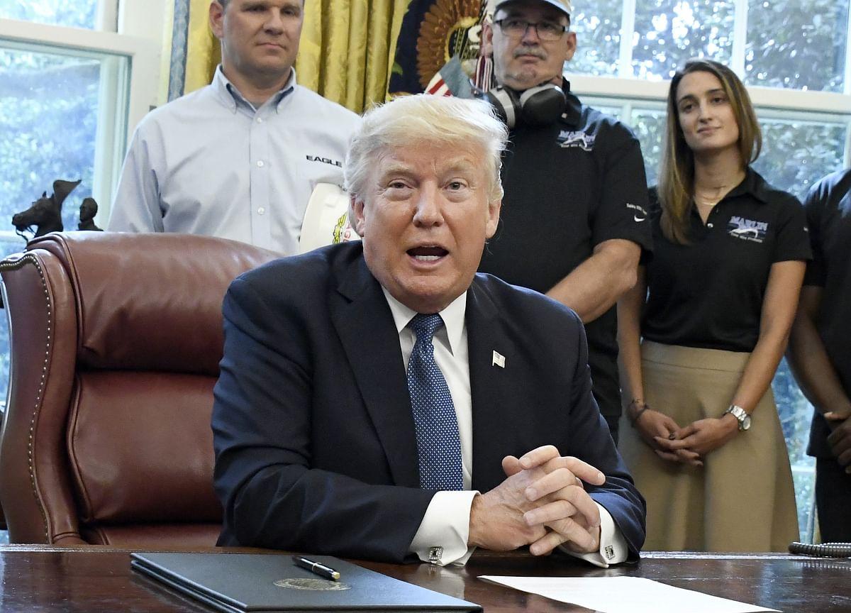 Trump Says U.S. Economy Doing Well Despite 'Destructive' Fed