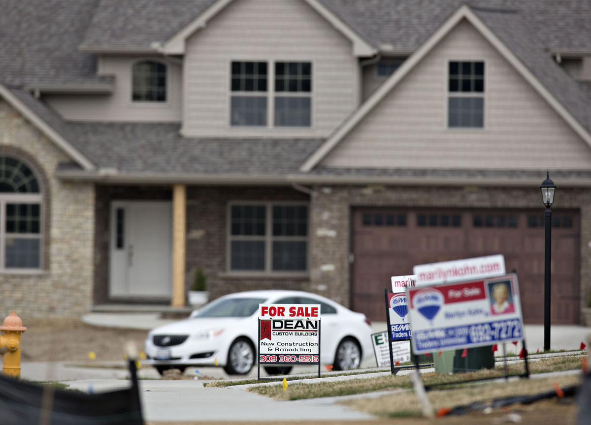 U.S. Home-Price Gains Slow in Fourth Quarter as Inventory Jumps