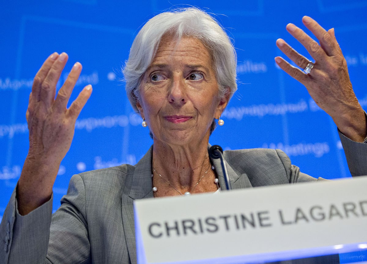 Indian economy on very solid track: IMF chief Lagarde