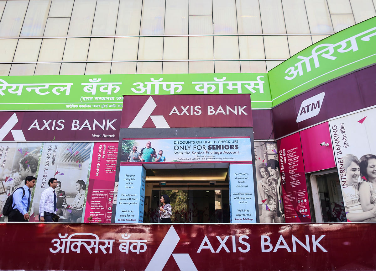 Shares Of Axis Bank Drop Most In Nearly A Year On Higher Stressed Assets