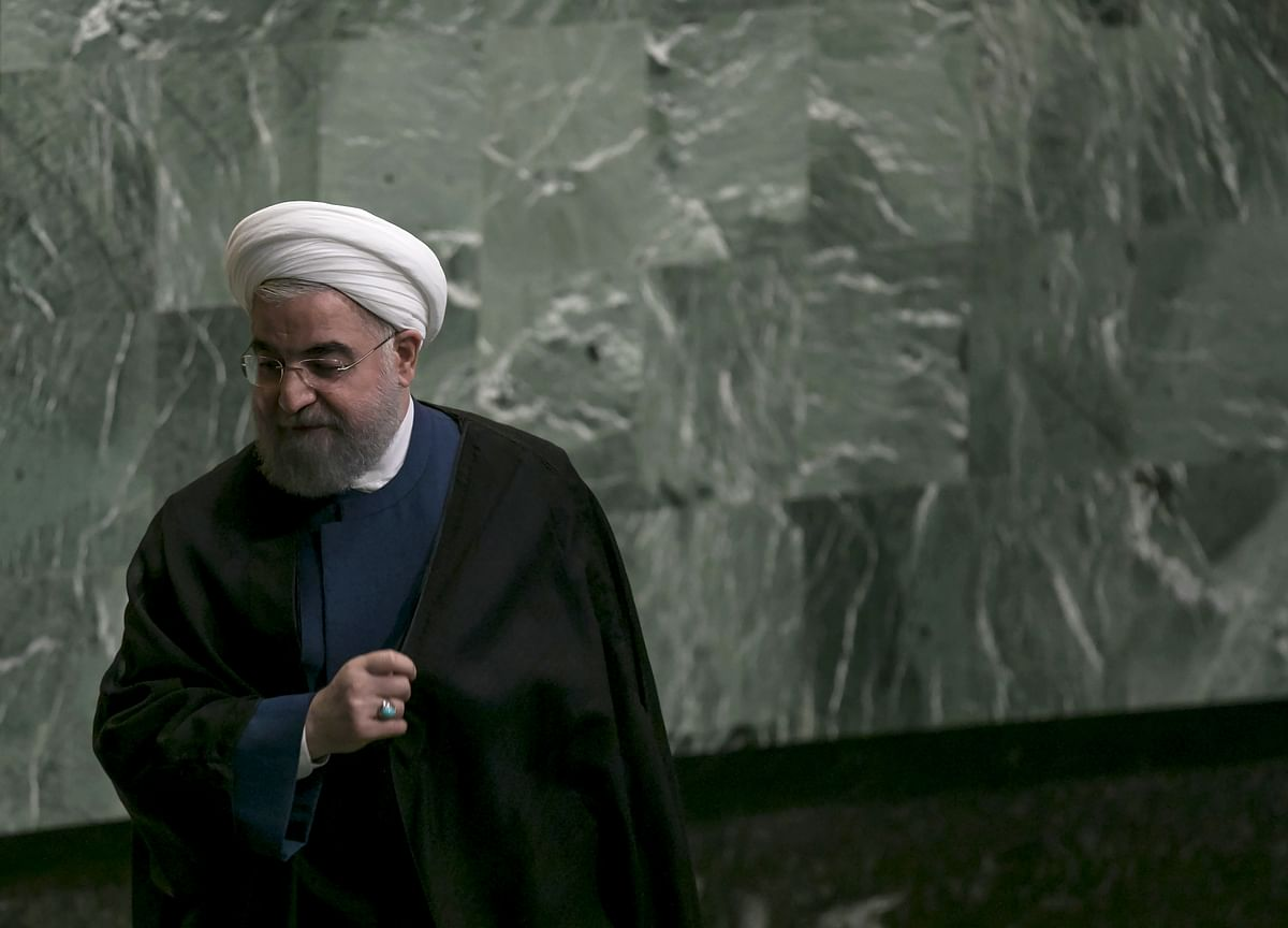 Iran's President Rouhani Says He Doesn't Want War With U.S.