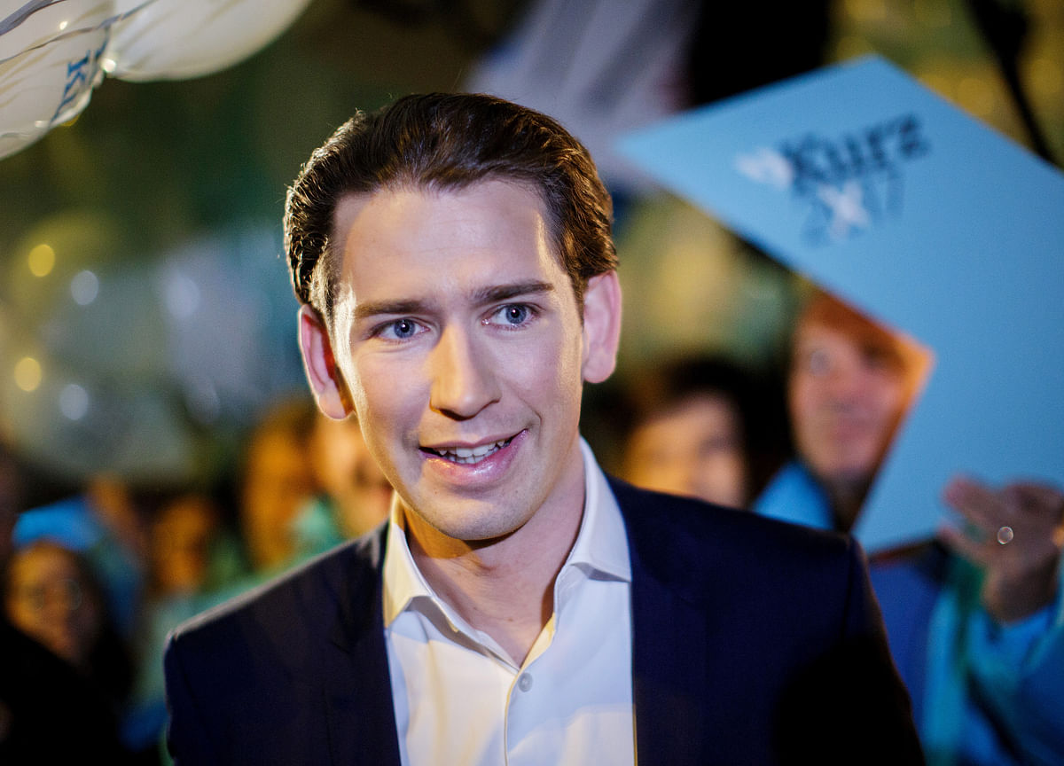 Kurz Is Meeting the Internet CEOs He's Going to Tax in Davos