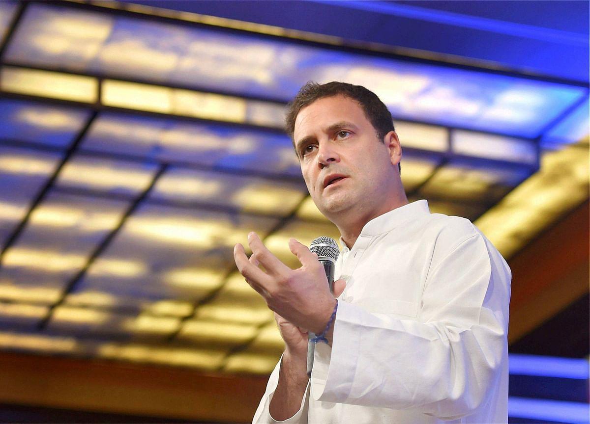Rahul Slams Modi On Job Creation, Says 'Leaked Report Card' Reveals Disaster