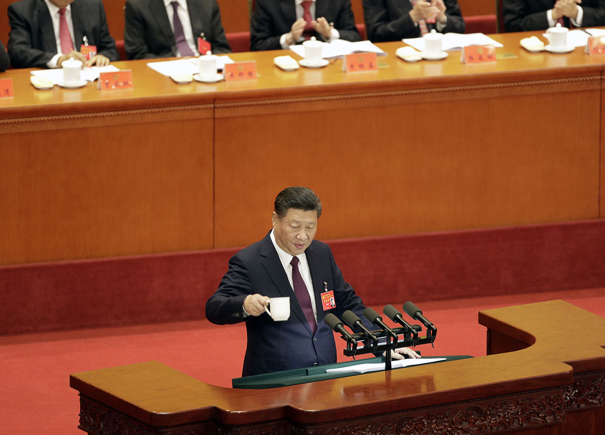 China's Xi Warns Party of 'Serious Dangers'as Risks Mount